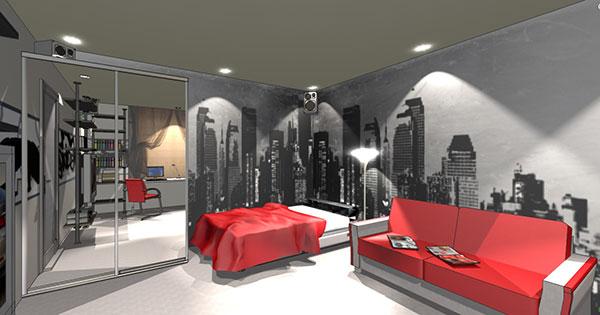дизайн интерьера комнаты для подростка советы по ремонту квартиры