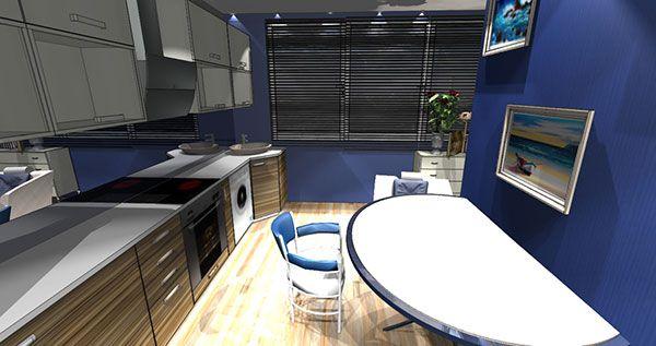 Дизайн интерьера кухни и лоджии - советы по ремонту квартиры.