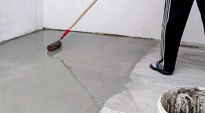 подготовка пола для монтажа ковролина
